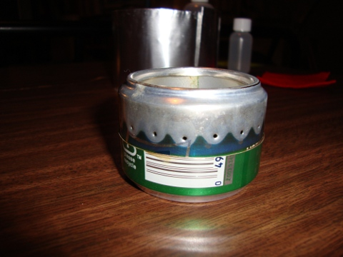 Best superlight small canister stove for Soda can stove template